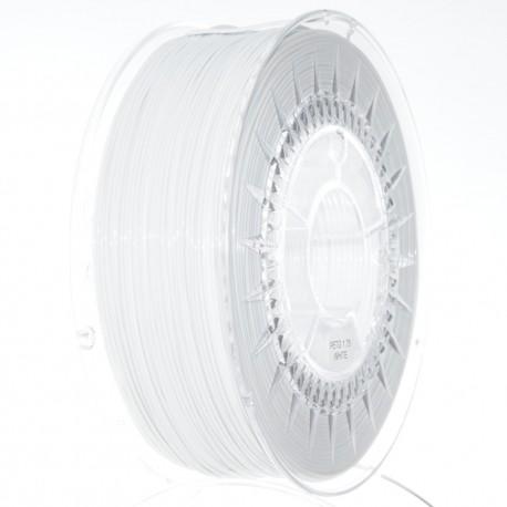 Standard PET – G 1.75mm beli filament za 3D štampače u pakovanju od 1KG.