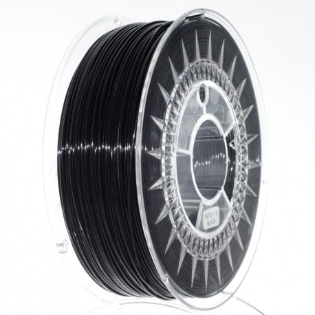 Guma 1.75mm crni filament za 3D štampače u pakovanju od 1kg.