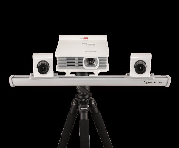 RangeVision Spectrum 3D scanner