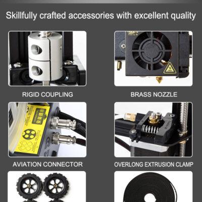 Unapređeni potpuno sklopljen 3D štampač Creality CR10s