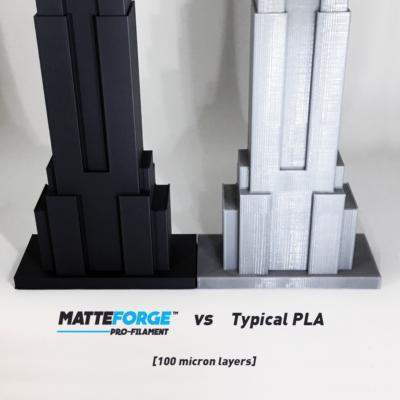 MATTEFORGE PLA MAT CRNI 1,75mm 1kg