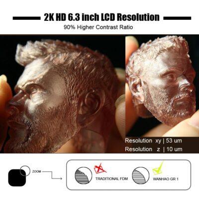 Wanhao GR1 mSLA (UV LCD)