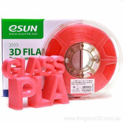 eSUN PLA+ 1,75mm 1kg CRVENI TRANSPARENTNI