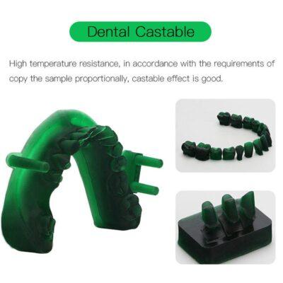 Anycubic Dental Livački UV Resin 0,5L – Zelena